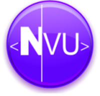 NVU Editor visual de Sites