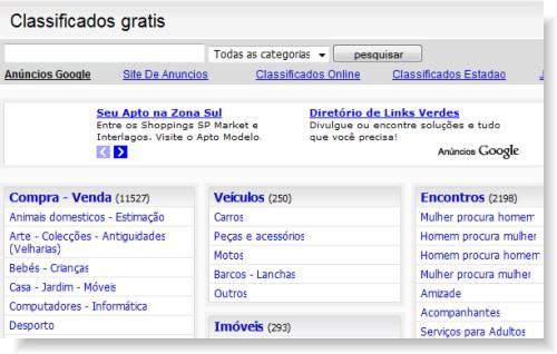 Classificados gratis no Brasil Classificados Online Anúncios Grátis