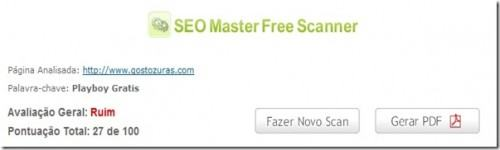 seo master free scanner