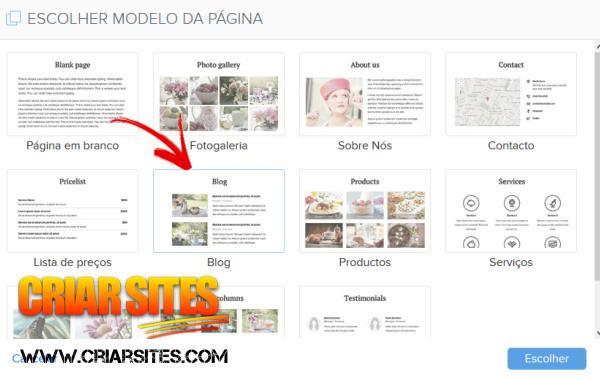 Como Criar um Blog Grátis no Webnode