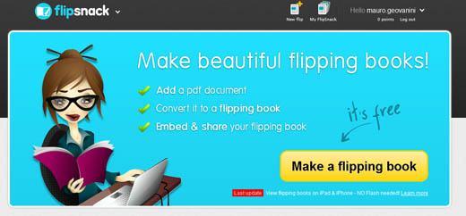 Crie lindos livros digitais