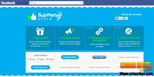 Suas lojas no Submarino