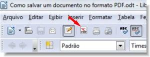 salvar documento no formato pdf
