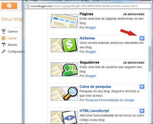 Adicionar Google Adsense no Blogger