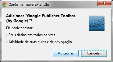 Adicionar Google Publisher Toolbar
