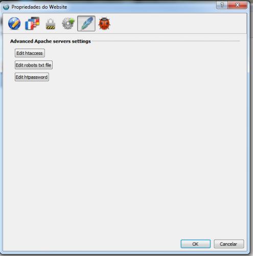 configurar apache no web acappella