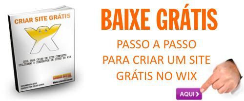 E-BOOK GRÁTIS COMO CRIAR UM SITE NO WIX