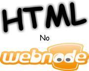 html no webnode