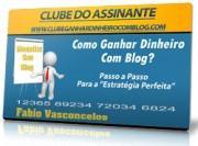Clube ganhar dinheiro com blog