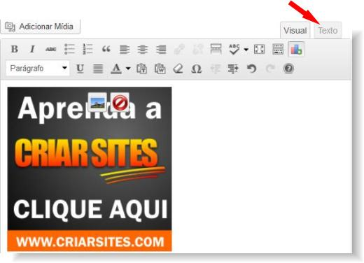 adicionar midia no wordpress