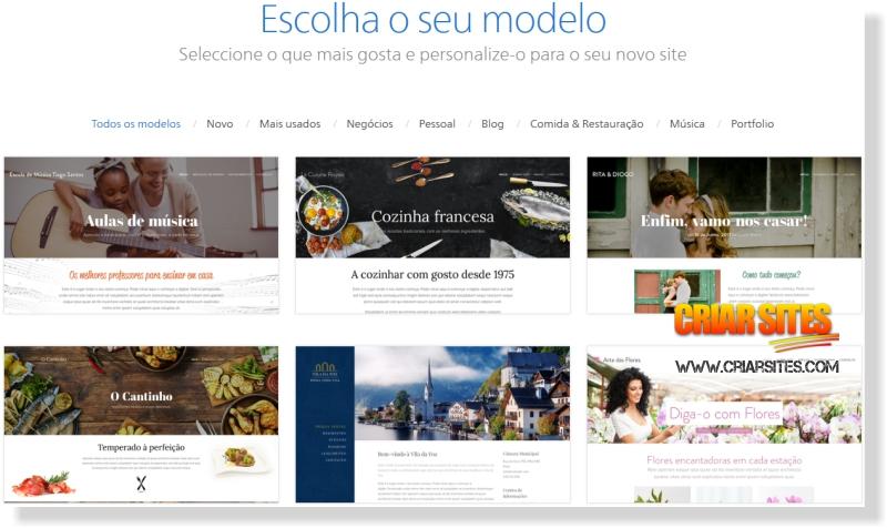 templates gratis webnode