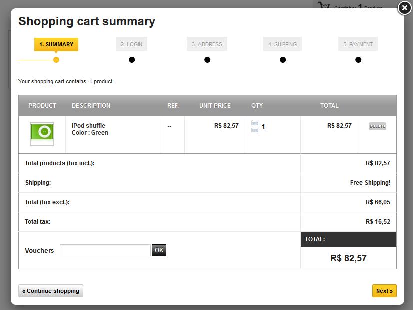 Crie sua loja virtual com o novo web acappella e commerce - Central de compras web ...