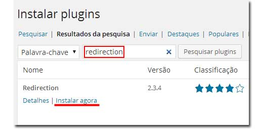 Plugin para Redirecionamento 301 em WordPress!