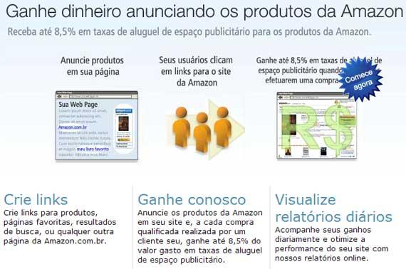 Programa de Afiliados da Amazon está no Brasil!