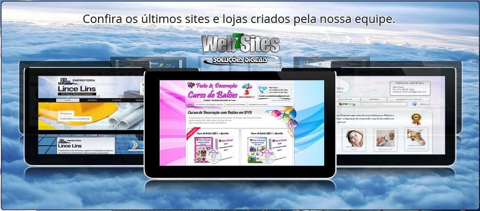Sites criados pela Empresa