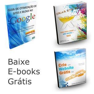 Baixe E-books Grátis sobre Criação de Sites