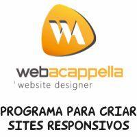 Como Criar um Site Responsivo no WebAcappella RC 5