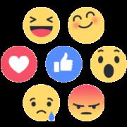 Blog WordPress com Ícones de Reações estilo Facebook