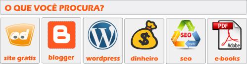 o que procurano Criar Sites?