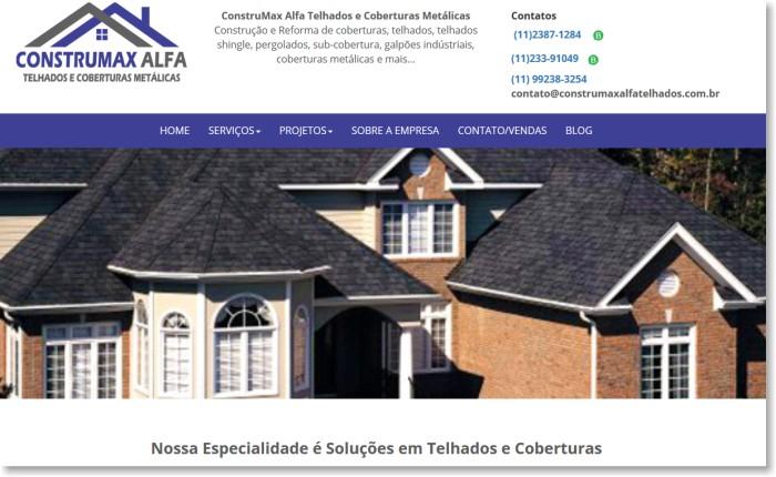 Construmax Alfa Telhados e Coberturas Metálicas