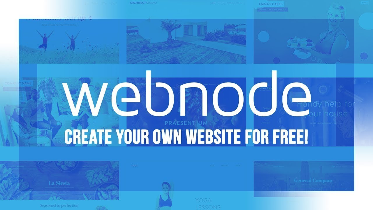 Webnode Criar Site Grátis