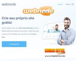 criar site webnode